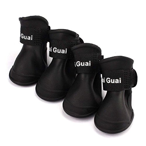 Zapatos lluvia animal domestico - SODIALR 4pzs Zapatos
