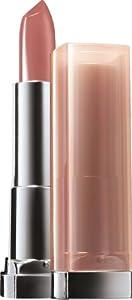 Gemey Maybelline Colour Sensational Stripped Nudes Lipstick 728 Honey Beige