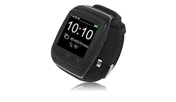 Logicom L-Watch Montre connectée pour Smartphone Noir: Amazon.fr: High-tech