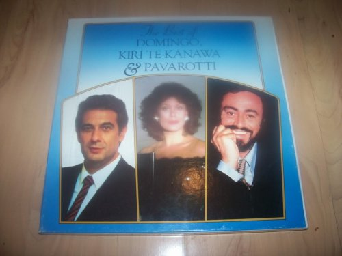 RDS 10801-8 Best of Domingo Te Kanawa Pavarotti box