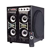 #6: Kewl Multimedia Hi Fi Home Theater System Connectivity to The Speakers with Remote Control and Built-in FM Radio,Bluetooth, USB, SD Card and AUX with Beautiful Designer Cabinet