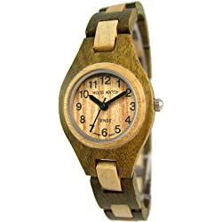 TENSE Wooden Watch Womens Pacific Sandalwood / Maple L7509GM