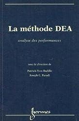 LA METHODE DEA. Analyse des performances