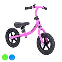 Kids Balance Bike Metal Running Walking Training Bicycle Puncture Proof RideStar