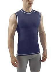 Sub Sports Men's Dual  Compression Baselayer Sleeveless Top