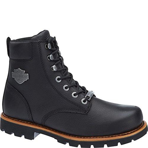 Harley-Davidson Mens Vista Ridge Leather Boots Black Wiki De Venta En Línea PV9juSSt