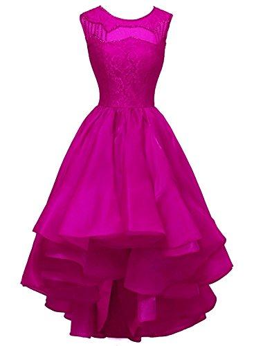 Fanciest -  Vestito  - linea ad a - Donna Hot Pink