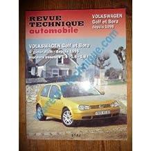 RRTA0618.1 REVUE TECHNIQUE AUTOMOBILE VOLKSWAGEN VW GOLF IV et BORA Essence 1.4l, 1.6l, 1.8l GTI depuis 1998