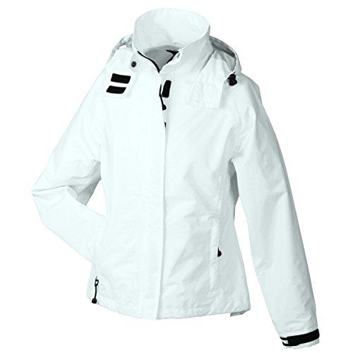 JAMES & NICHOLSON - veste coupe-vent technique - imperméable et respirante - hiver - JN1011 - Femme Blanc