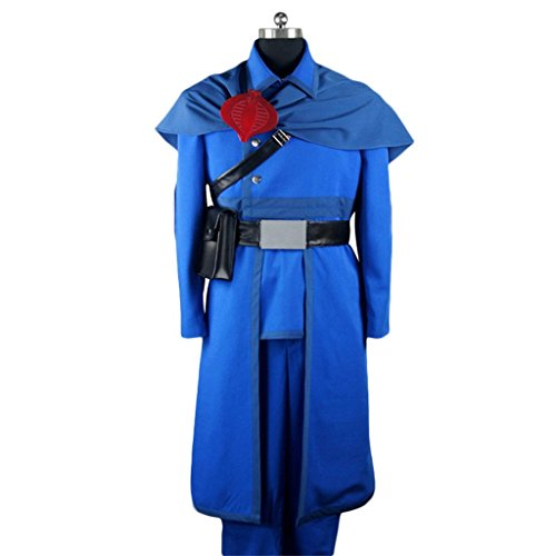 Holysteed Cosplay Costume_G.I. Joe_Cobra Commander_Complete Clothes+Accessories - Cobra Gi Joe Kostüm