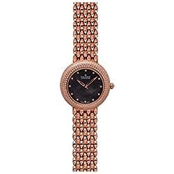 Charmex Las Vegas 6301 35mm Rose Gold Steel Bracelet & Case Synthetic Sapphire Women's Watch