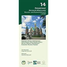 Blatt 14, Darmstadt - Messeler Hügelland: Wander- und Radwanderkarte 1:20.000. Mit Darmstadt, Dieburg, Eppertshausen, Groß-Bieberau, Groß-Zimmern, ... und Naturpark Neckartal-Odenwald)