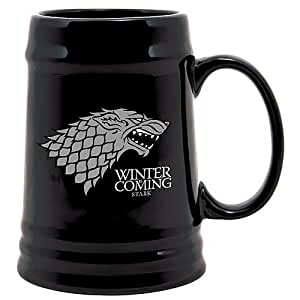 Chope Ceramique 'Game of Thrones' - noire - Stark