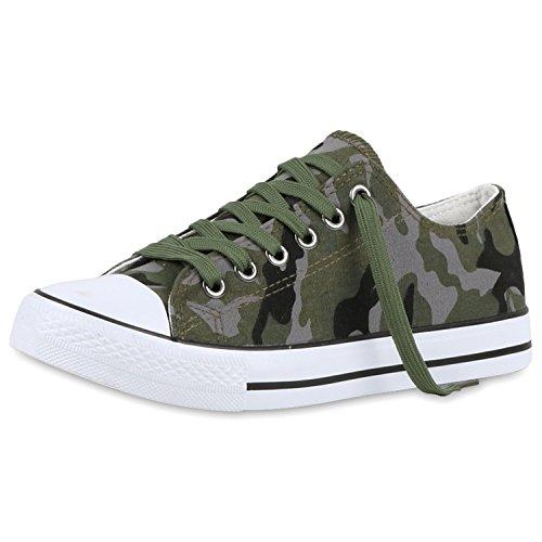 Sneakers best-boots da donna scarpe da ginnastica atletica scarpe Cords Slipper Camouflage Nuovo