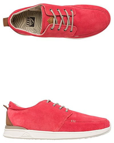 Reef Rover Low Premium Daim Chaussure de Basket red