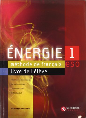 Energie : 1: Student Book and CD - 9788429446548