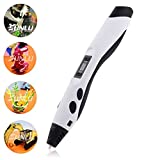 Mohoo Intelligenter 3D Pen 3D Stift 3D Druckstift Pen Dritte
