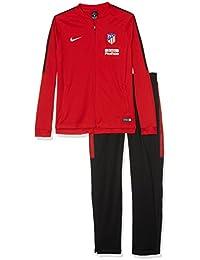 Nike Atm y Nk Dry Sqd Trk Suit K Chándal Atlético de Madrid, Niños, Rojo (Sport Red/Black/Black/White), XS