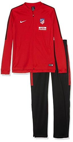 Nike Atm y Nk Dry Sqd Trk Suit K Survêtement Atlético de Madrid Enfants XL Rouge (Sport Red/noir/noir/blanc)