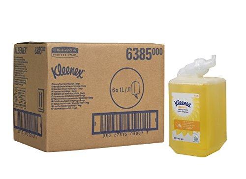 kleenex-6385-ricarica-di-detergente-per-le-mani-energy-luxury-giallo-confezione-da-6-x-1-l