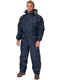 Azul marino Traje de esquiar ropa de esquí de invierno con aislamiento de mono Suit