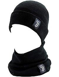 Cappello Scaldacollo FC JUVENTUS Uomo Donna Invernale UFFICIALE Enzo  Castellano NUOVO LOGO d30b8bb7f3f9