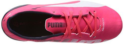 Puma Evospeed 4-3 Fg, Chaussures de football homme Rose (Plasma/White/Peacoat)