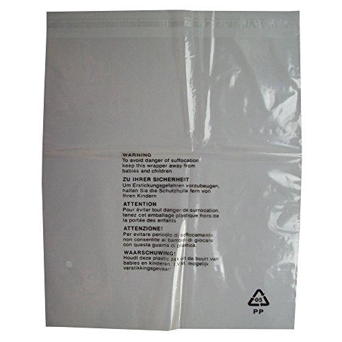 100TRASPARENTE plastica autosigillante Abbigliamento Abbigliamento al dettaglio