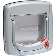 PetSafe Staywell, Draught Resistant, Deluxe Manual 4 Way Locking Cat Flap, Easy Installation, Universal Fitting, Flexible Locking, Energy Efficient Cat Door