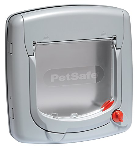 petsafe-staywell-deluxe-manual-4-way-locking-cat-flap-grey