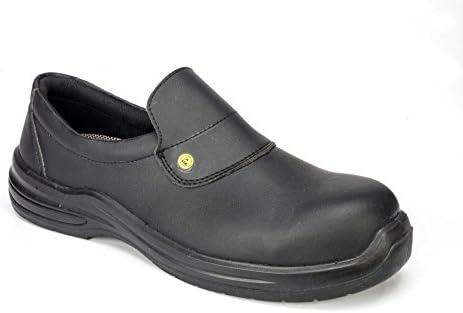 GSA 1036788003 par de zapatos bajos Puron Black S2 SRC ESD, Negro, 37