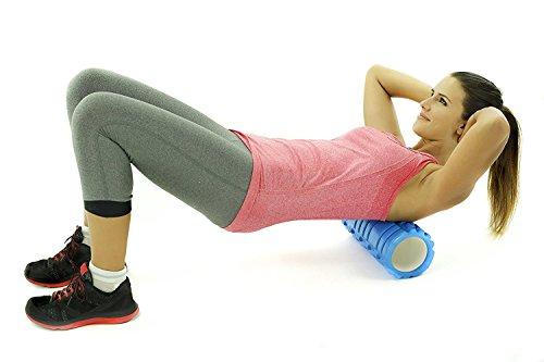 Cc * cd yoga pilates rullo per massaggio muscolare del tessuto