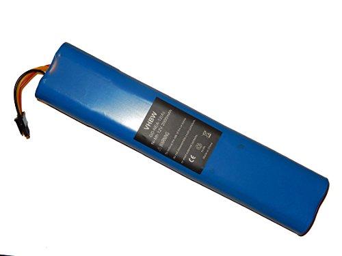 vhbw Ni-MH Akku 2000mAh (12V) für Elektrogerät Staubsauger Saugroboter Neato BotVac 70, 70e, 75, 80, 85 wie 205-0012, 945-0129, NX2000SCx10.