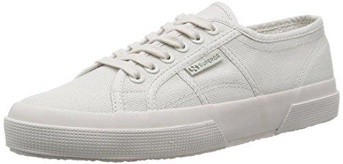 Superga 2750 COTU CLASSIC, Damen Low-Top Sneaker, Grau (928), 36 EU (3.5 UK)