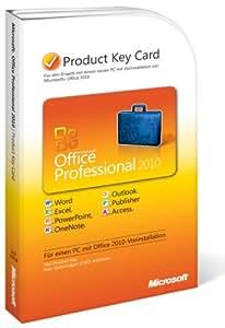 Microsoft Office Professional 2010 (Product Key Card)