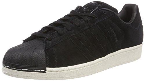 adidas Herren Superstar Sneaker, Schwarz (Negbas), 44 EU -