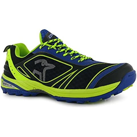 KOOKABURRA Viper Campo Hockey scarpe da uomo blu/lime ginnastica sneakers, Blue/Lime, (UK7) (EU40.5) (US8)