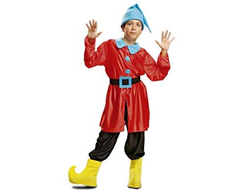 Imagen de my other me  disfraz de enanito, talla 10 12 años, color rojo viving costumes mom00742