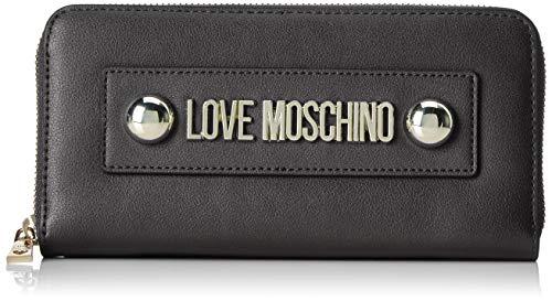 Love Moschino Portafogli Soft Grain Pu, Donna, (Ne...