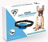 PROTECK Collier Anti-Aboiement pour Chien【Laisse + Ebook Offert】- Efficace & sans Douleur + Détection Intelligente + Etanche & Rechargeable