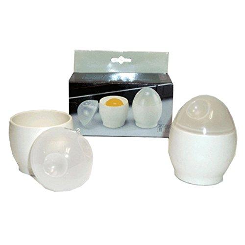 Juego de dos Bols para cocinar Huevos en el Microondas - Mod.3007