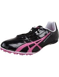 new concept 798ed 7c1ec ASICS Womens Hyper-Rocketgirl Sp Track And Field Shoe,BlackRaspberry,10.5
