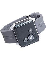 Mini Globale Lokalisierung Realzeit Fahrzeug ältere Kinder Haustier Fahrrad Auto GPS Tracking GSM / GPRS / GPS Tracker, kann am Handgelenk sein (Weiß + blau)