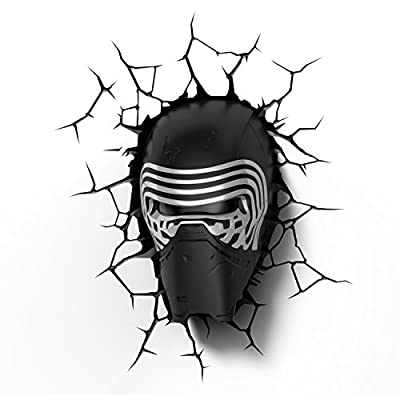 3D Light FX - Applique murale 3D Deco Light Star Wars Kylo Ren - 8719075221402