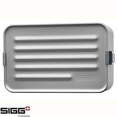 Container Sigg alimentaire Aluminium Coffre-fort - Mini Box Aluminium / Maxi