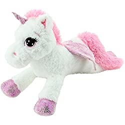 Sweety Toys 8032 unicornio en peluche oso de peluche 65 cm blanco