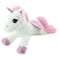 Idea Regalo - Sweety Toys 8032 unicorno en peluche oso de peluche 65 cm bianco