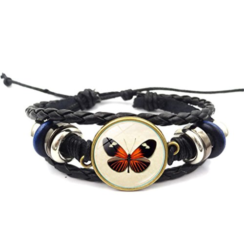 "Multilayer Leather Rope Bracelet Bangle ""Rebirth"" Gift For Friend Lover"