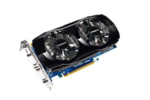 GigaByte NVIDIA GeForce GTX560 OC Grafikkarte (PCI-e. 1GB GDDR5 Speicher, Mini HDMI, 2X DVI) - 1gi Video Card