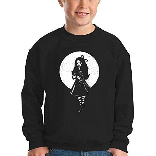 TeeTrumpet Dark Alice In Wonderland Kid's Sweatshirt